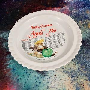 Betty Crocker Apple Pie Dish